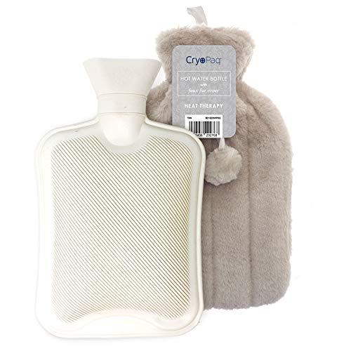 Bolsa de agua caliente afelpada, muy confortable para las noches de...