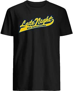 LATE NIGHT WITH DAVID LETTERMAN - CLASSIC SCRIPT LOGO -