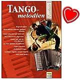 Tango melodías para acordeón – Los mecanismos de sonido agradable en el rango medio deleitan a todos los jugadores – Notas de acordeón con pinza de color en forma de corazón