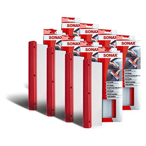 SONAX 8 x 04174000 Raclette FlexiBlade Eau en Silicone Extracteur 1 pièces