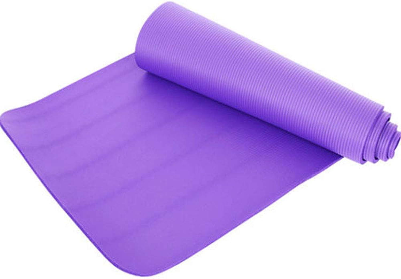 Yoga Mat, Non-Slip Widened to Increase Odorless Non-Slip Fitness Mat Dance Practice Mat Yoga Mat Exercise Mat Pilates Mat with Strap Backpack