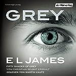 Grey: Fifty Shades of Grey von Christian selbst erzählt                   Autor:                                                                                                                                 E. L. James                               Sprecher:                                                                                                                                 Martin Kautz                      Spieldauer: 18 Std. und 44 Min.     3.261 Bewertungen     Gesamt 4,4