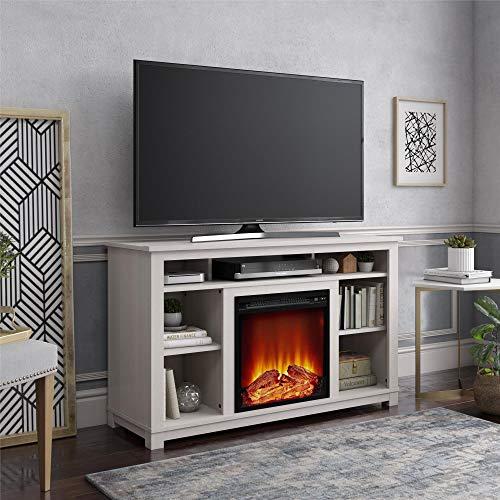 Ameriwood Home 2402884COM Edgewood Fireplace Soporte para TV de 55 ...