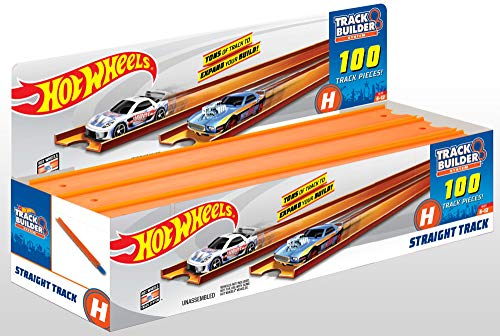 Hot Wheels Straight Track, 172' [Amazon Exclusive]