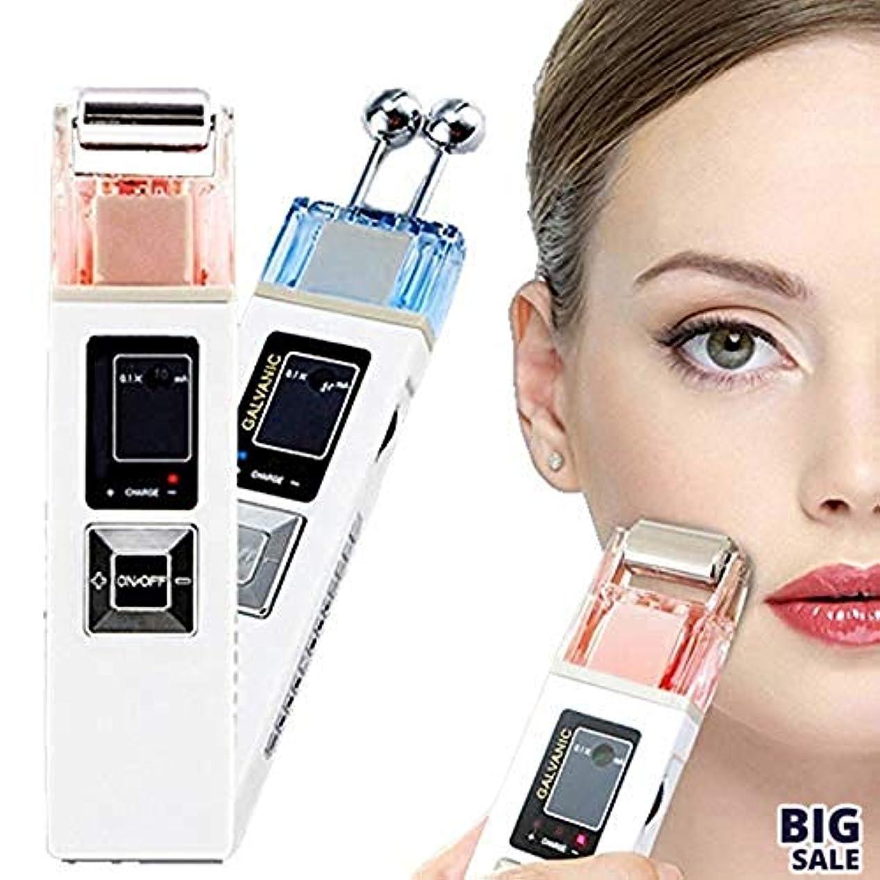 方法論手書きシャッフルNICEE5 1つの美顔装置に付き、無線周波持ち上がるEMS LCDライトガルバニックイオン療法は若返り、滑らかな良いラインスキンケアのきつく締まりますNICEY