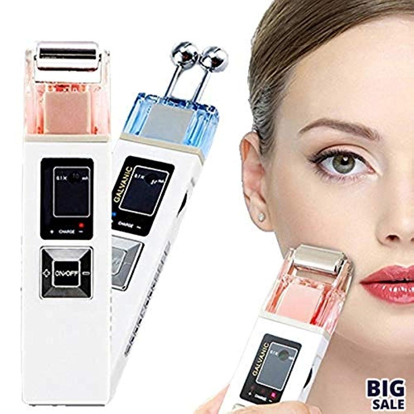 近々集団人NICEE5 1つの美顔装置に付き、無線周波持ち上がるEMS LCDライトガルバニックイオン療法は若返り、滑らかな良いラインスキンケアのきつく締まりますNICEY