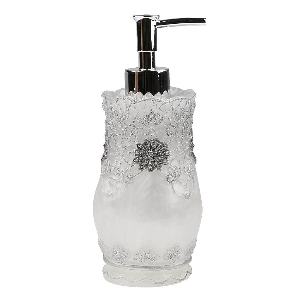 テーブルを設定する古いなるFlameer シャンプー ボディークレンザー 液体石鹸などローション適用 詰め替え 高品質 樹脂 空 ポンプ瓶 全4種類  - #2