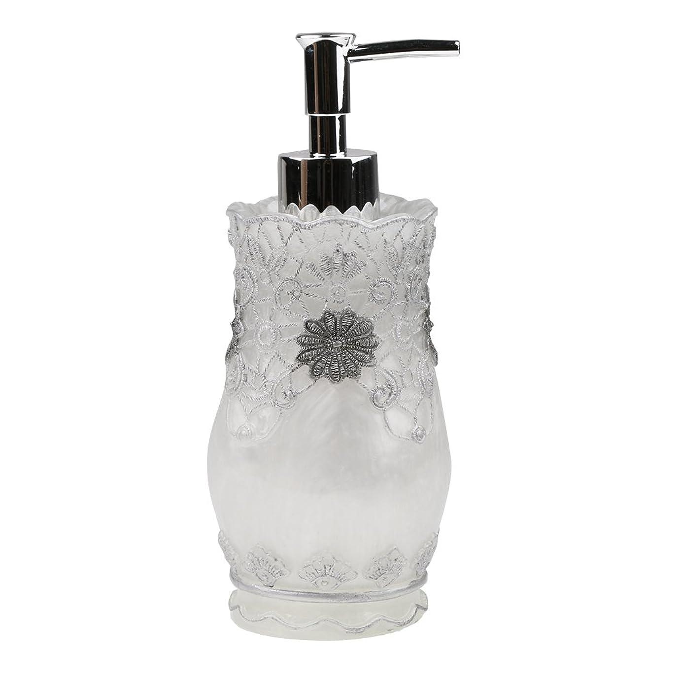 側溝が欲しい湿原Homyl 液体ソープ シャンプー用 空 シャンプー ボトル  詰め替えボトル 美しい エレガント デザイン  全4種類 - #2