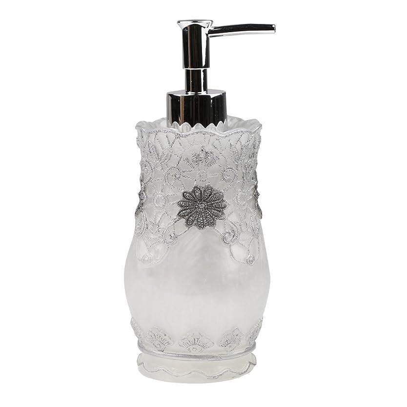 グレー主人写真Homyl 液体ソープ シャンプー用 空 シャンプー ボトル  詰め替えボトル 美しい エレガント デザイン  全4種類 - #2
