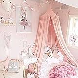 Ciel de lit Moustiquaire en coton pour petite Princesse anti-moustique Berceau Dôme...