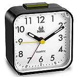 Despertador Silencioso Temporizador Despertador sin Tictac Reloj Mesa de Pantalla Esfera Grande...