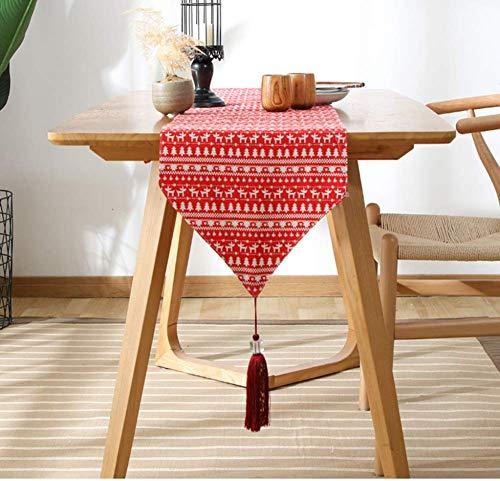 WYJW tafelloper, strakke minimalistische tafelloper, geruite salontafel, salontafel bed handdoek zachte doek, een verscheidenheid aan maten om uit te kiezen,B_33*140cm