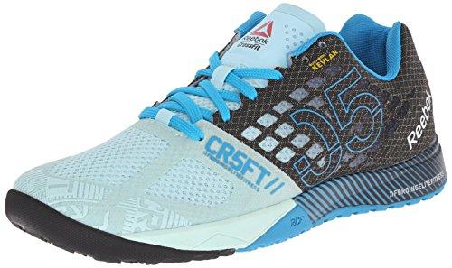 Reebok Women's Crossfit Nano 5.0 Training Shoe, Cool Breeze/Black/Far...