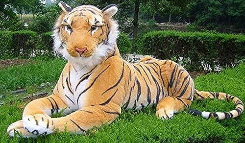 XuBa Plüschtier Tiger, 130 cm,  , Weiß 130cm