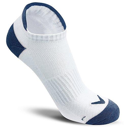 Callaway Women Low Golf Chaussettes Basses Sport Tab pour Femme, Blanc (Blanco/Azul 000), Taille Unique Fits Most Homme