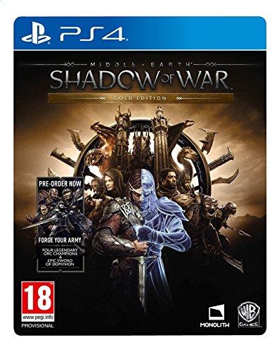 Midden Aarde Schaduw van Oorlog Gold Edition PS4 spel