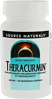 SOURCE NATURALS Theracurmin 600 Mg Vegetable Capsule, 30 Count