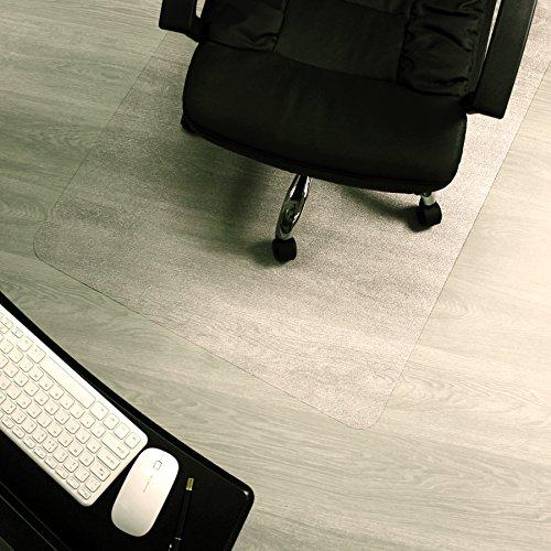 Marvelux Enhanced Polymer Eco-Friendly Office Chair Mat for Hardwood Floors 48