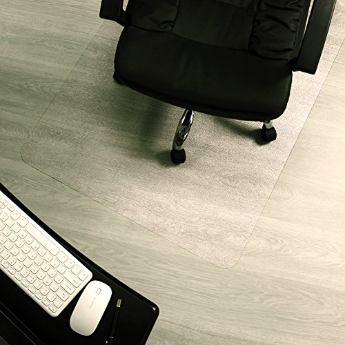 Marvelux Enhanced Polymer Eco-Friendly Office Chair Mat for Hardwood Floors 48
