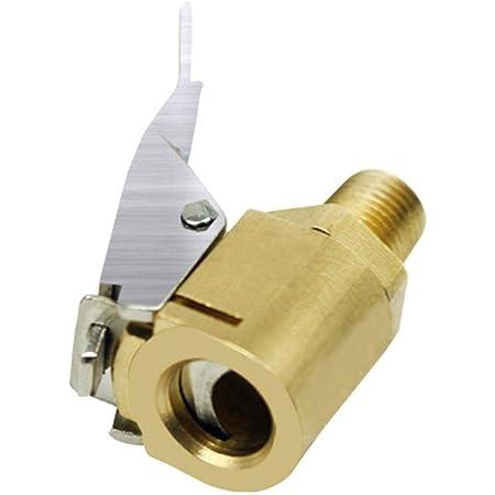 Lucypapashow Hebelstecker Air Chuck Messing Neu Reifenfüllnippel Ventilaufsatz Momentstecker 8mm Auto