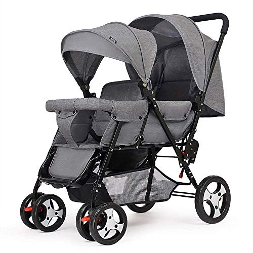 Best Deals! LMDC Baby Stroller Light Portable High Landscape Can Sit Lie Folded Simple Two-Way Shock...