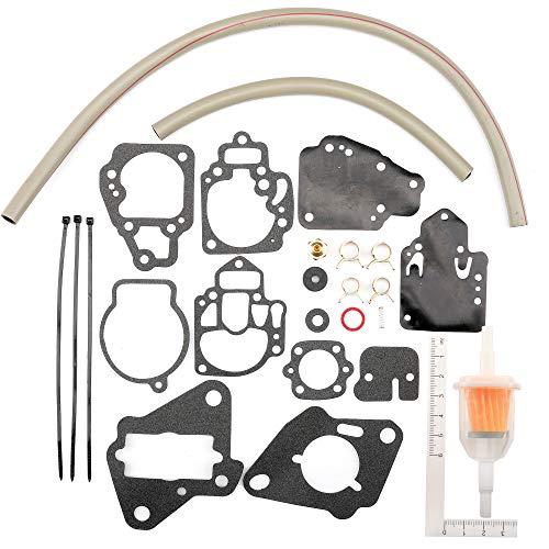 Unepart Carburetor Repair Kit for Mercury Marine Replaces 1395-97611 1395-9645 1395-9761 1395-9377 1395-9179 1395-9803 1395-9725 1395-811357