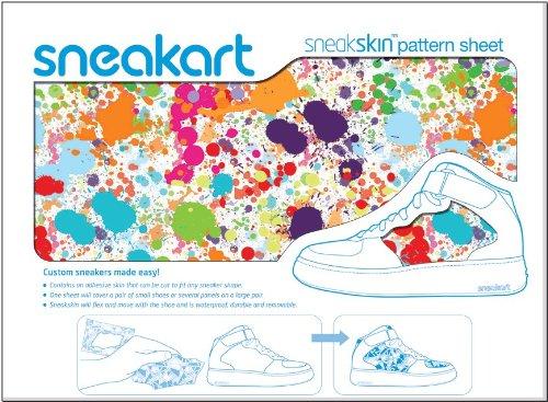 Sneakart-oracal 621 film adhésif pour chaussures paint innovation signée splat