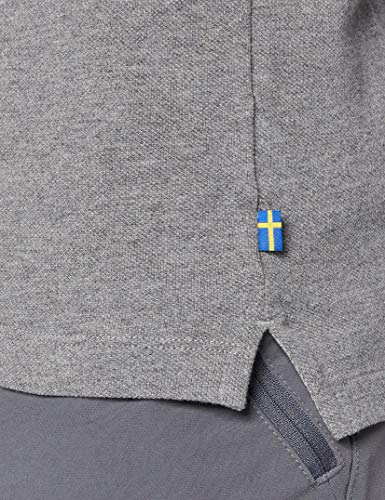 Fjällräven oevik Polo Shirt poloshirts, Uomo, Övik Polo Shirt, grigio, XL