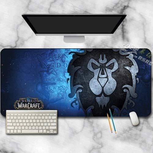 Manson Die Allianz Logo Gaming Mouse Pad WOW Büro und zu Hause Wasserdichtes Schreibtisch Schreibens-Brett Groß Personalisieren Gaming Mouse Pad 2020 Neueste (Size : A)
