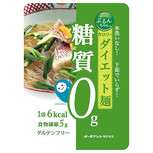オーミケンシ ぷるんちゃん カロリーダイエット麺 100g×10箱入×(2ケース)