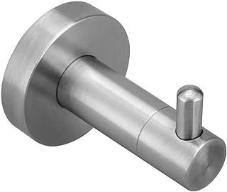 Hgery SUS 304 Stainless Steel Single Hook for Towel Coat Robe Clothes Hat Super Power Heavy Duty Wall Mount Modern Bath Ho...
