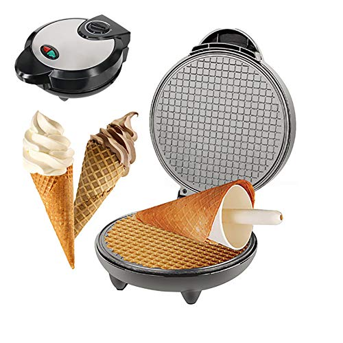 Buy Discount Electric Egg Roll Maker,Professional Mini Belgian Waffle Maker Machine with Temperature...