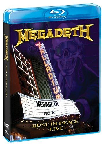 Megadeth - Rust In Peace Live [USA] [Blu-ray]