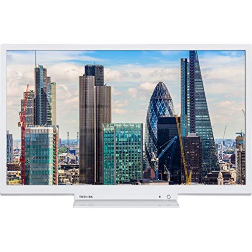 """Televisione Toshiba 24W1754DG 24"""" HD LED 27W Bianco"""
