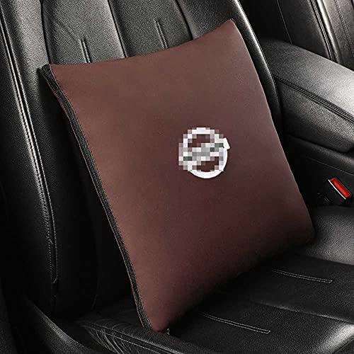 NIUASH Trapunta del Cuscino del Cuscino del Supporto Lombare dello Schienale del Sedile dell'auto, per Nissan Tutti i Modelli 2003~2021