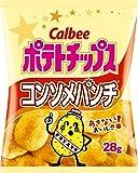 カルビーポテトチップス コンソメパンチ 袋28g