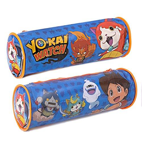 Les Colis Noir LCN – Estuche Redondo de PVC Yo-Kai Watch – Envase Escolar – 220: Amazon.es: Hogar