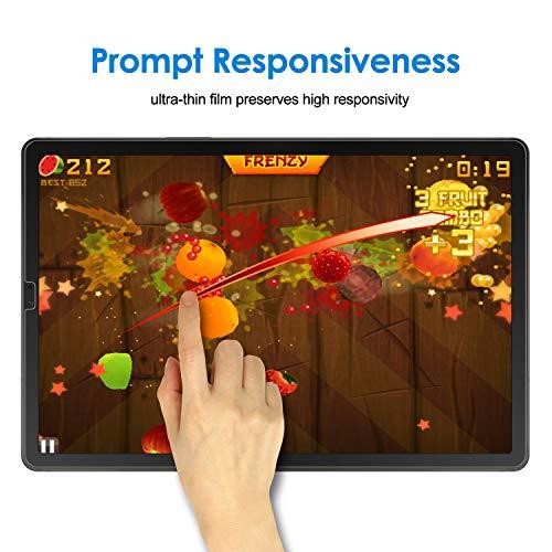 JETech Schutzfolie Kompatibel mit Galaxy Tab S6 / S5e 10.5 2019, Gehärtetem Glas Displayschutzfolie