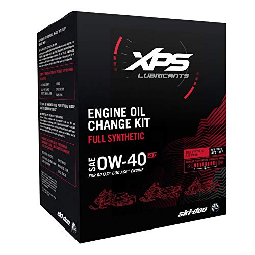 SKI-DOO 4T 0W-40 Synthetic Oil Change Kit for Rotax 600 ACE engine