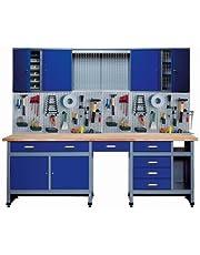 Küpper 70412-7 werkplaatsset, 240 cm, Made in Germany, kleur: donkerblauw (Blu Oltremare)