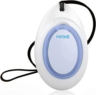 HiKiNS Wearable Personal Air Purifier Travel Negative Ion Generator Eliminator for Smoke, Dust,Odors and A Gift to Protect Your Lover