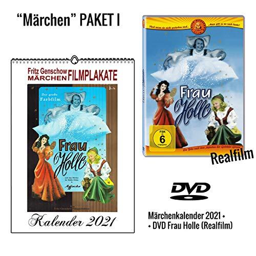 Frau Holle DVD + Märchenkalender 2021 (A4 Wandkalender)