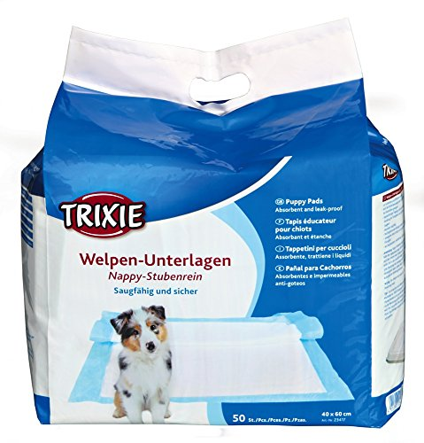 Trixie Welpen-Unterlage Nappy-Stubenrein 40x60cm - Big Pack, 50 Stück