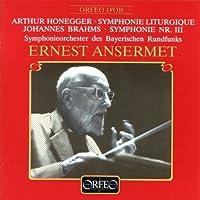 Symphonie Liturgique / Symphonie No. 3 by HONEGGER / BRAHMS (1989-11-08)