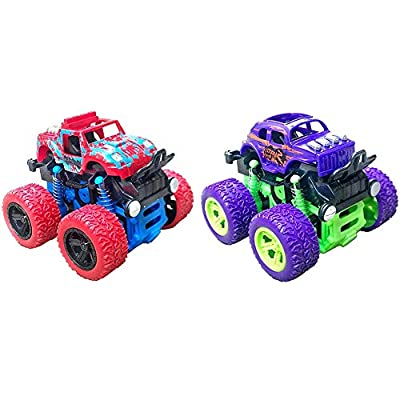 Monster Truck Toys, Off-Road Vehicles Toy Truck...