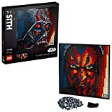 LEGO Art Star Wars The Sith 31200 Creative Sith Lord Building Kit; an Elegant Piece for Adults who Love Mindful Art Projects or The Dark Lords of The Sith, New 2020 (3,406 Pieces)