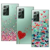 TLING 3 x Coque pour Samsung Galaxy Note 20 Ultra, Ultra Mince Silicone TPU Souple Étui Housse...