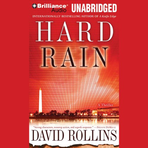 Hard Rain audiobook cover art