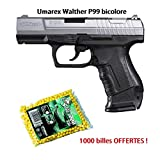 Airsoft WALTHER - P99 Bicolor - 0.5J - Ressort - 6mm