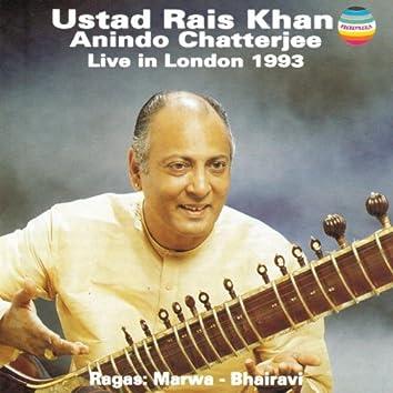 Rais Khan & Chatterjee - Live In London 1993 (Ragas, Marwa & Bharavi)